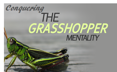 Conquering The Grasshopper Mentality